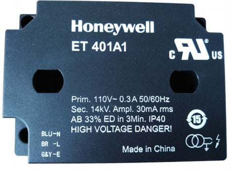 Honeywell ET401A1 Ignition Transformer