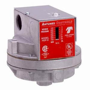 HGP-D - High Gas Pressure Switch DPDT- Manual Reset