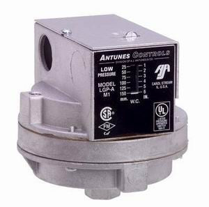 LGP-A - Low Gas Pressure Switch - Manual Reset