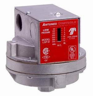 LGP-D - Low Gas Pressure Switch DPDT - Manual Reset