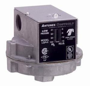 LGP-H - Low Gas Pressure Switch H Series- Manual Reset