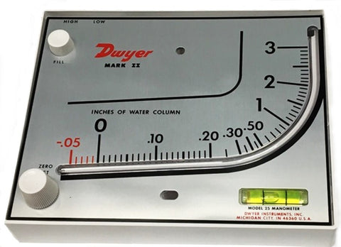 DWYER MARK II Series Low Pressure Manometer