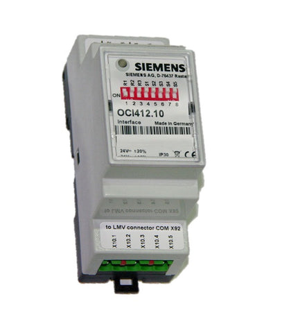 Siemens OCI412.10 Modbus Interface