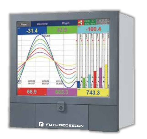 Future Design PR30 Paperless Recorder and Process Controller