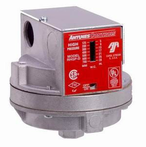 RHGP-D - High Gas Pressure Switch DPDT - Auto Reset