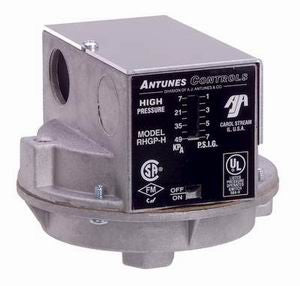 RHGP-H - High Gas Pressure Switch H Series - Auto Reset