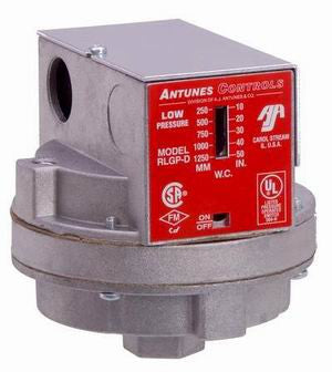 RLGP-D - Low Gas Pressure Switch DPDT - Auto Reset