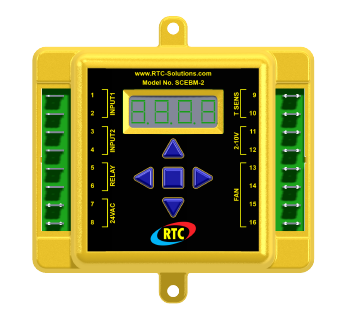 RTC SCEBM-2: Digital Signal Conditioner for Combustion Air Burners