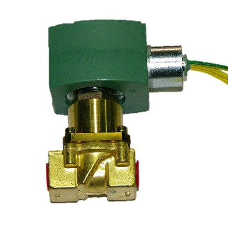 "Asco SV401 1/4""NPT 120Vac 2-Way Normally Closed Oil Shutoff Valve"