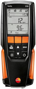 Testo 310 Residential Combustion Analyzer Kit