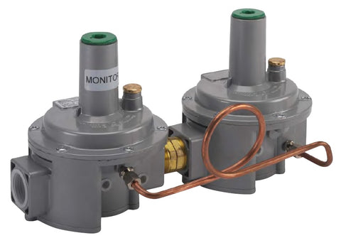 Pietro Fiorentini Governor - Dual Cut, 10 PSI Inlet, Worker/Monitor Line Pressure Regulator (OPD Model)