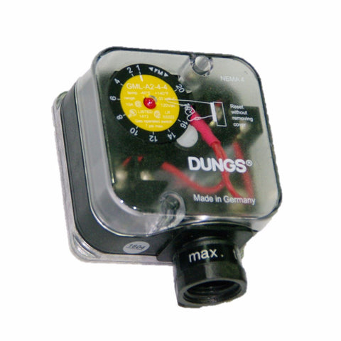 Dungs GML Low Pressure Switch