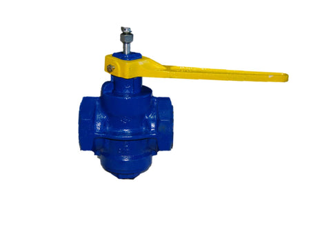 Cast Iron Lubricated Plug Valves