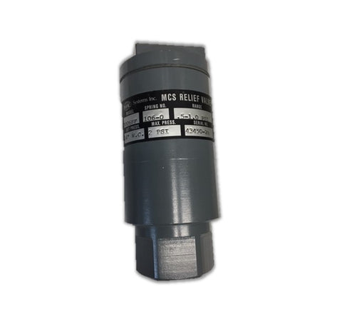 IMAC MCS Pop Relief Valve for Air or Gas Service