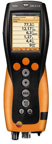 Testo 330-2 LX Combustion Analyzer