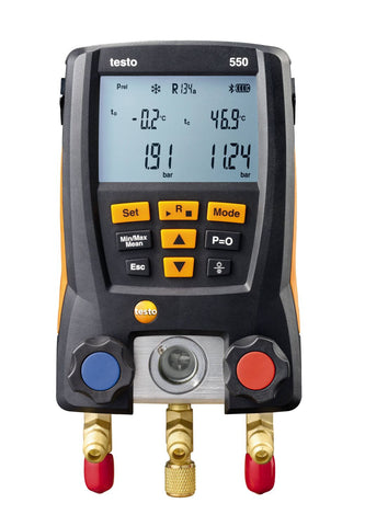 Testo 550 - Digital Manifold Kit