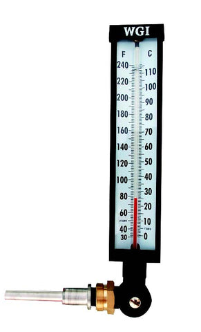 Industrial Thermometer 9 Quot Adjustable Angle Carremm