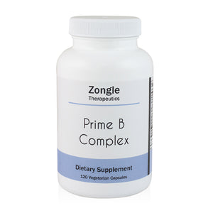 Zongle Therapeutics - Prime B Complex - 120 Vegetarian Capsules