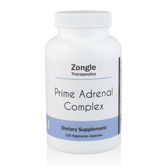 Zongle Therapeutics - Prime Adrenal Complex - 120 Vegetarian Capsules