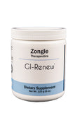 Zongle Therapeutics - GI-Renew - 225 g (8 oz) Powder - L-glutamine, N-acetyl-glucosamine, MSM, DGL plus more