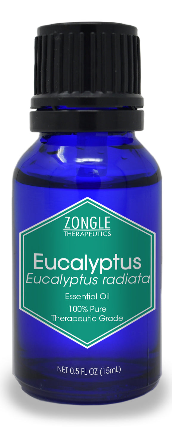 Zongle Eucalyptus Essential Oil, Australia, 15 mL