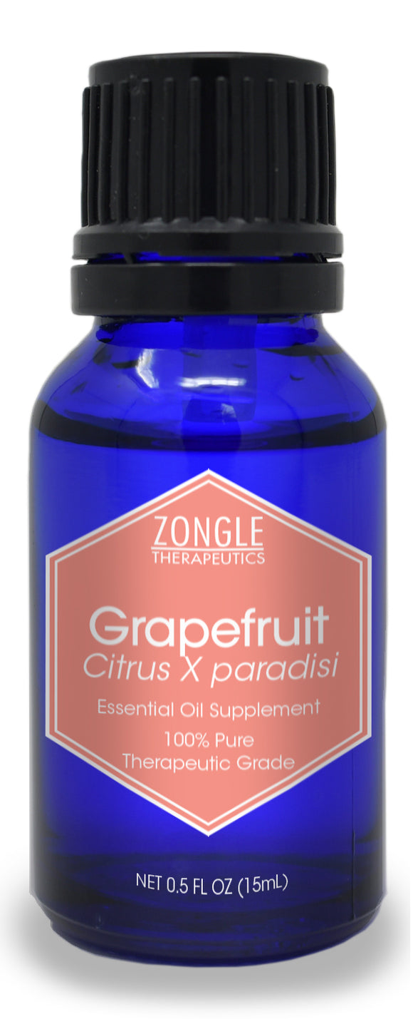 Zongle Grapefruit Essential Oil, USA, Safe To Ingest, 15 mL