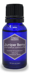 Zongle Juniper Berry Essential Oil, Europe, Safe To Ingest, 15 mL