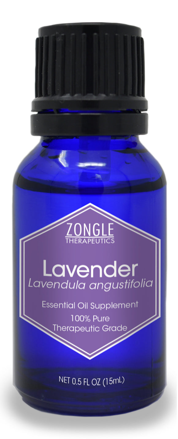 Zongle Lavender Essential Oil, Bulgaria, Safe To Ingest, 15 mL