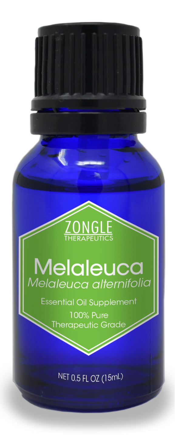 Zongle Melaleuca (Tea Tree) Essential Oil, Australia, Safe To Ingest, 15 mL
