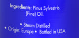 Zongle Pine Essential Oil - Ingredients