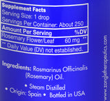 Zongle Rosemary Essential Oil - Ingredients