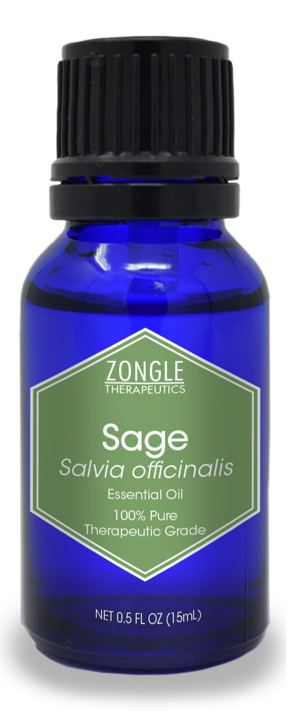 Zongle Sage Essential Oil, Austria, 15 mL