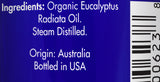 Zongle USDA Certified Organic Eucalyptus Oil - Ingredients