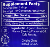 Zongle USDA Certified Organic Evening Primrose Oil - Ingredients