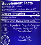 Zongle USDA Certified Organic Marjoram Essential Oil - Ingredients