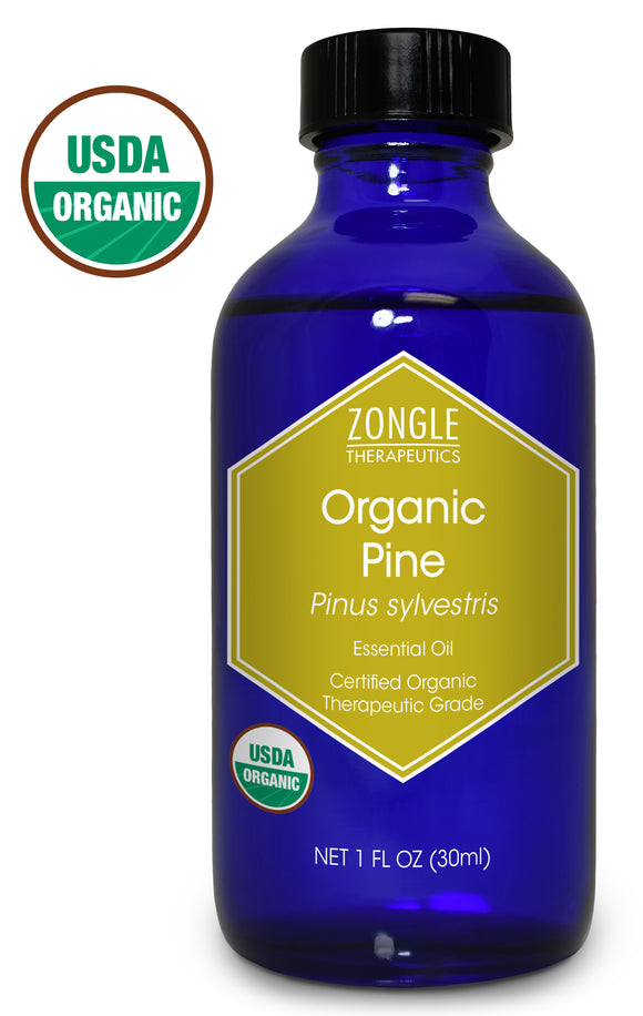 Zongle USDA Certified Organic Pine Essential Oil, Bulgaria, Pinus Sylvestris, 1 oz