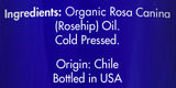 Zongle USDA Certified Organic Rosehip Oil - Ingredients