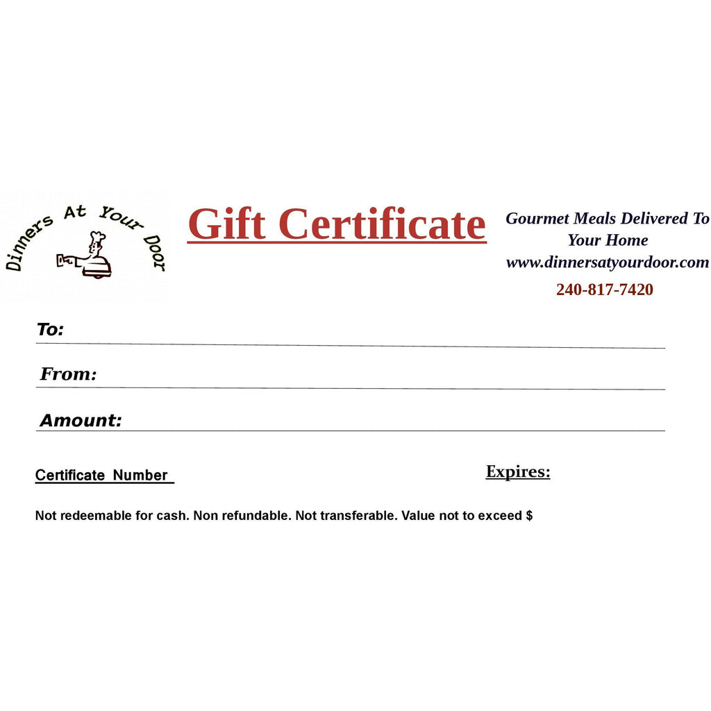 Gift Certificate-$300