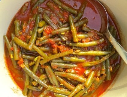 Green Bean Stew. Healthy Meals Delivered
