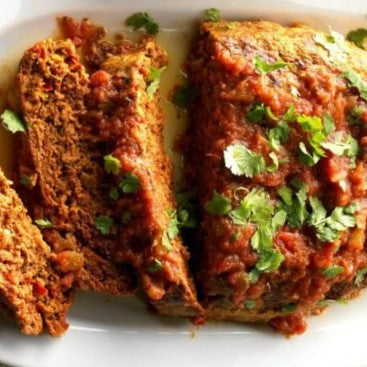 Mexican Turkey Meatloaf-Low Carb