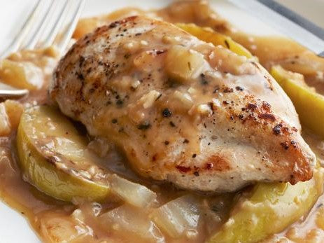 Apple Cider Chicken-Low Carb