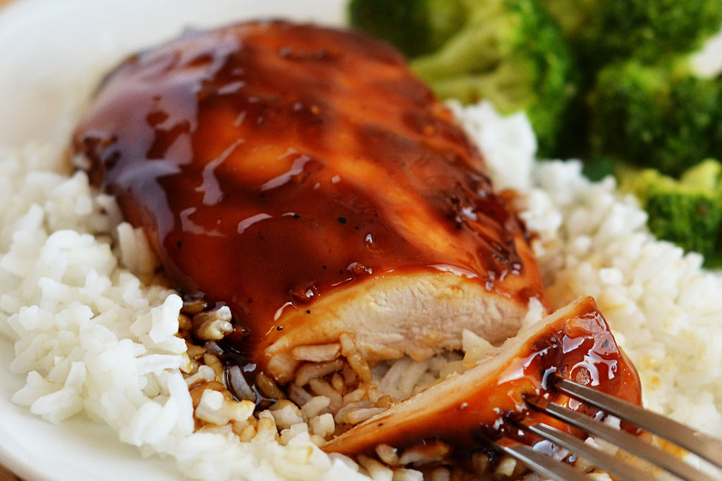 Hoisin Glazed Chicken