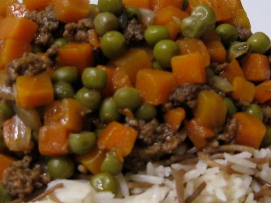 Beef Stew W/ Green Peas & Carrots