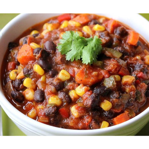 Black Bean & Vegetables Chili