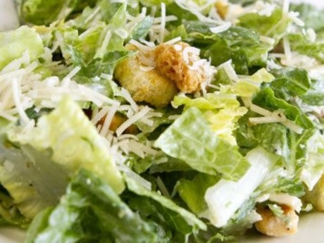 Ceasar Salad. One of our healthy salads