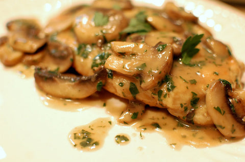 Chicken Marsala W/ Mashed Cauliflower