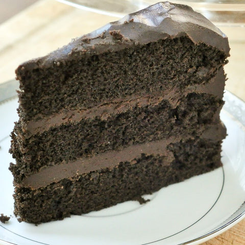 Chocolate Fudge Layered Cake