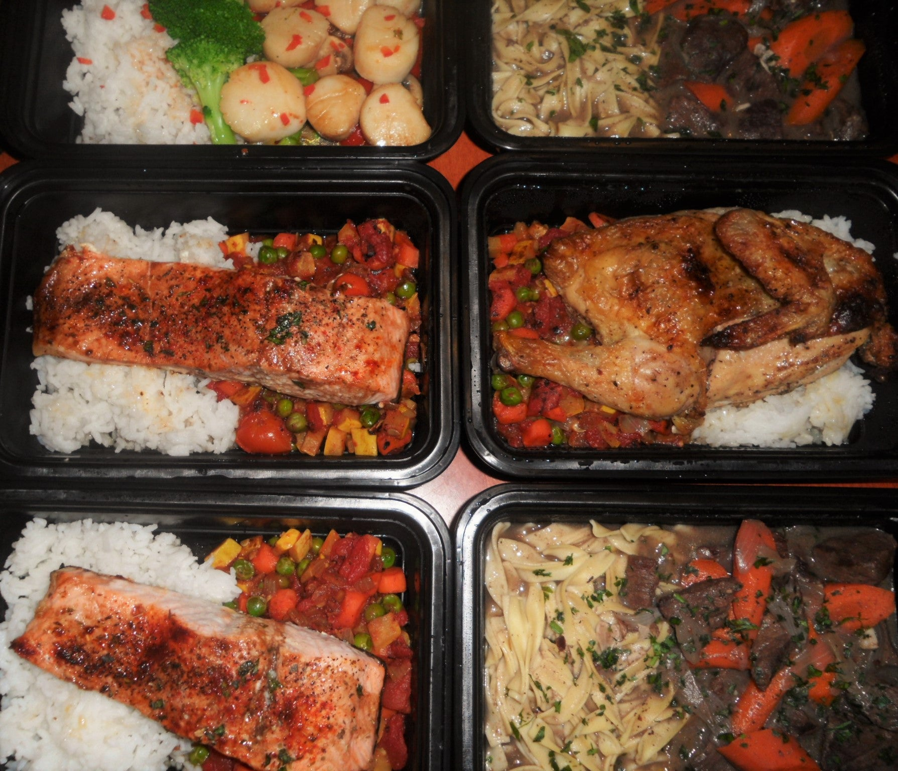 Healthy cooked meals delivered in Northern Virginia.