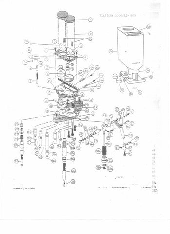 Plat2000, L/S-1000 & 950 Exploded View & Price List