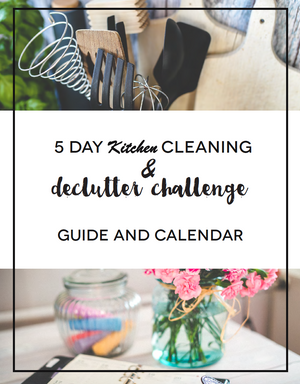 5 Day Kitchen Cleaning & Decluttering Course